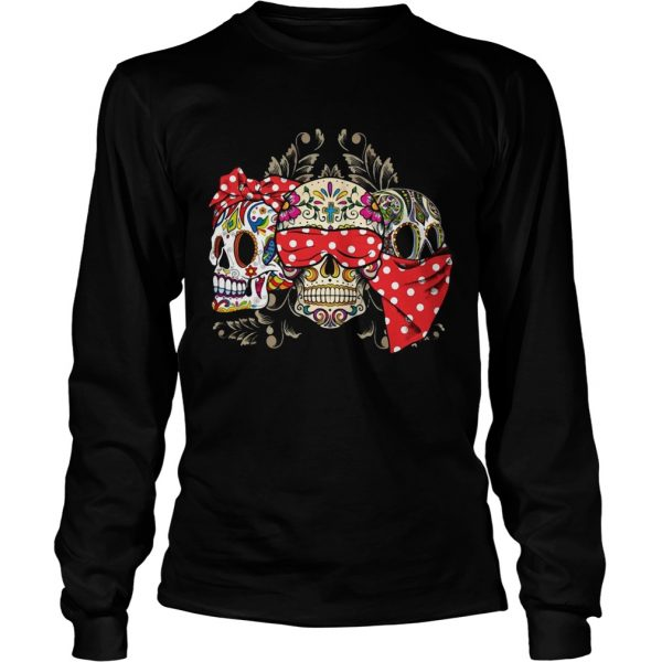 Dont miss this deal on three skull floral LongSleeve