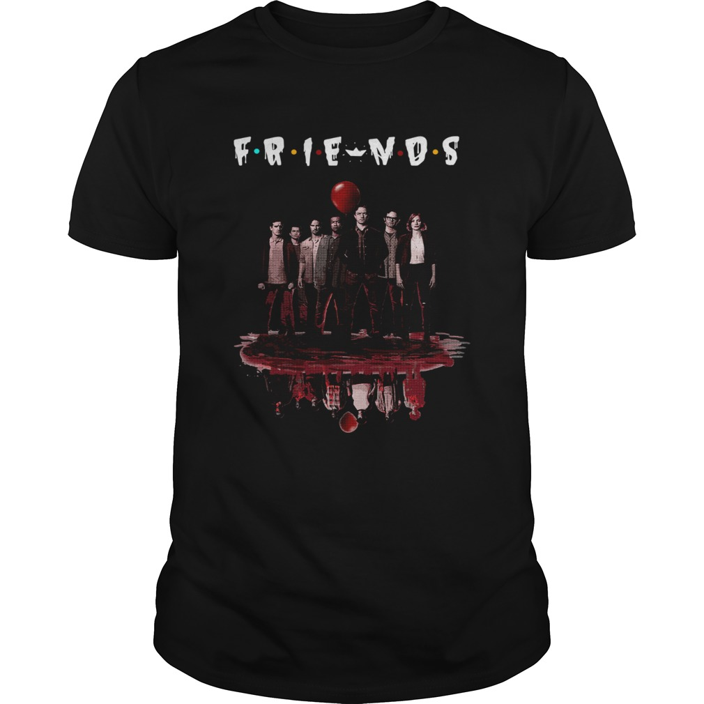 FRIENDS Poster IT Chapter Two upside down shirt