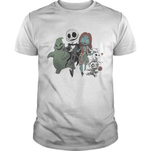 Jack Skellington and Sally and Zero Friend shirt