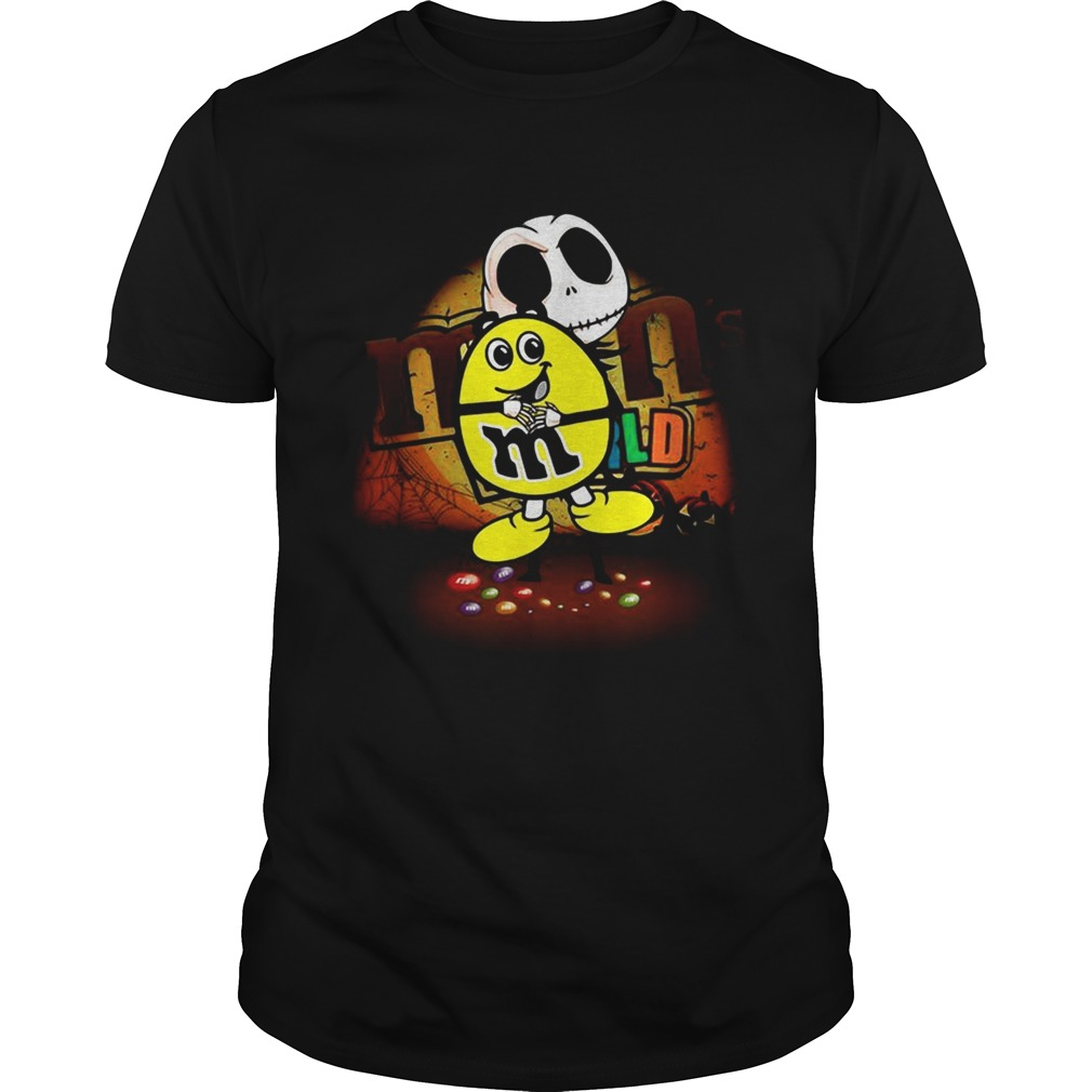 Jack Skellington hug mm Halloween shirt