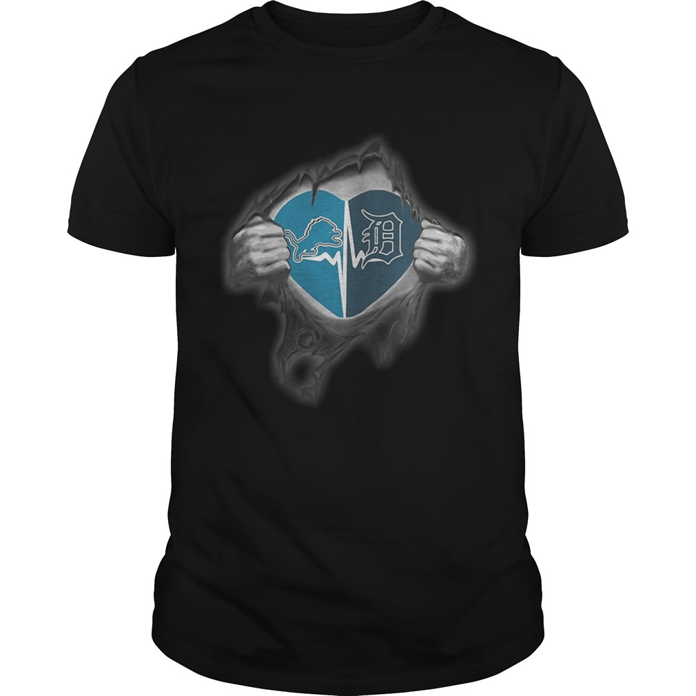 Lions Tigers Its in my heart inside me shirt