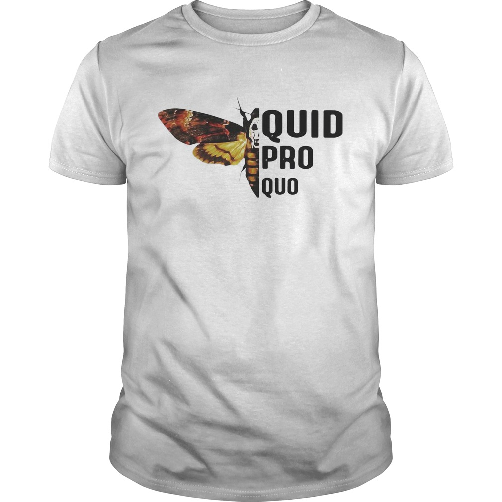 Silence lambs quid pro quo shirt