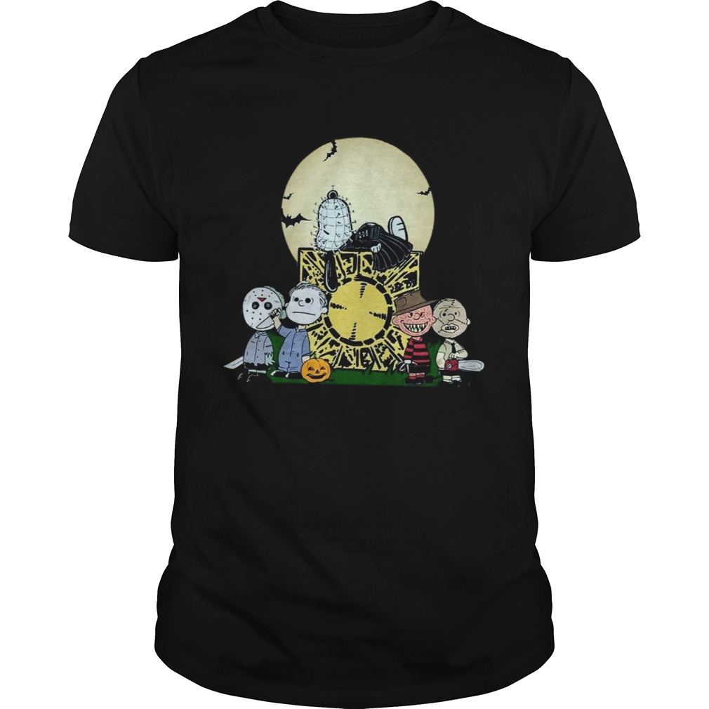 Slash Peanuts Halloween shirt