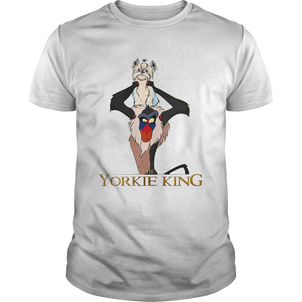 The Yorkie King Rafiki shirt