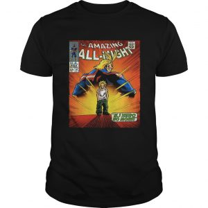 The amazing all night Boku No Hero Academia shirt