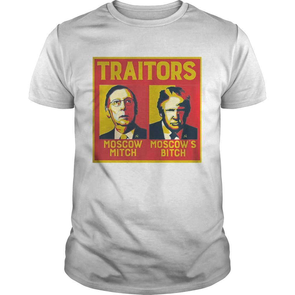 Traitors Moscow Mitch Trump shirt