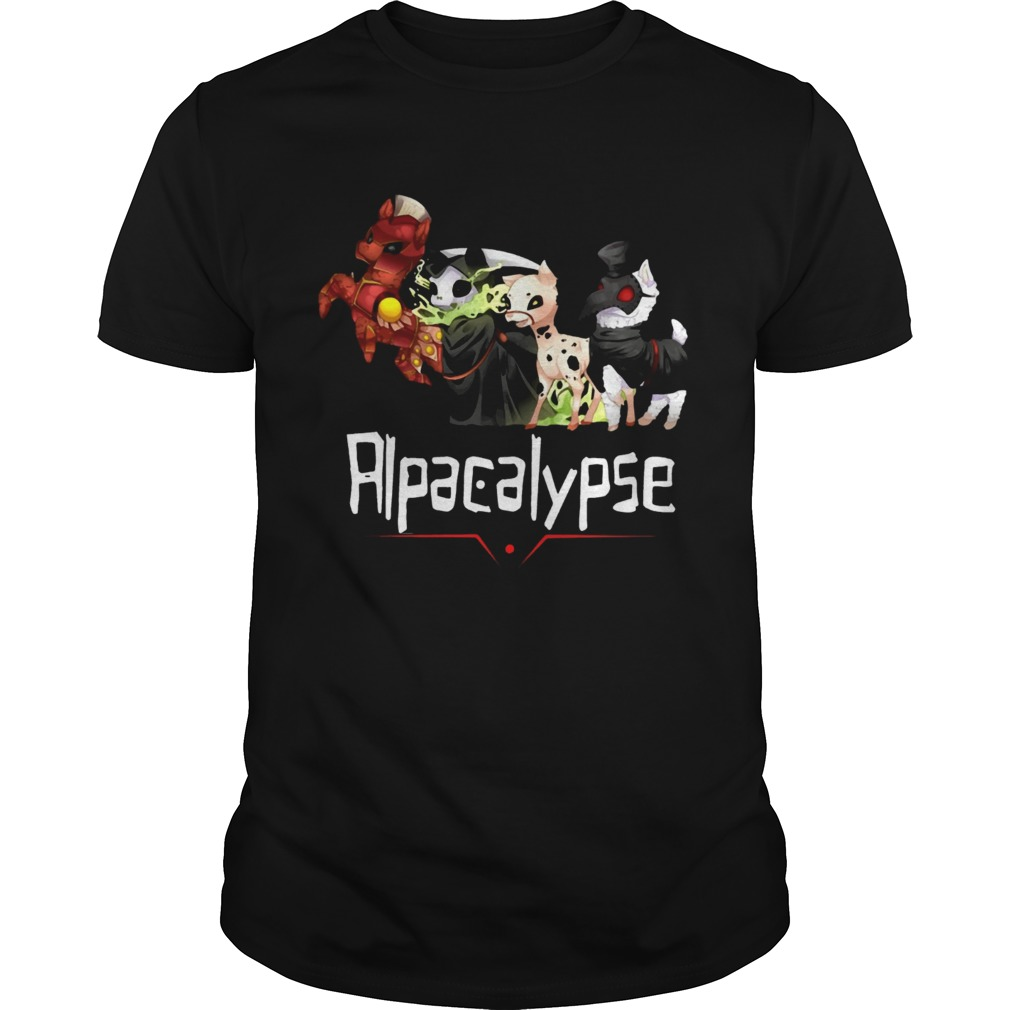 Alpacalypse Death War Plague Tshirt