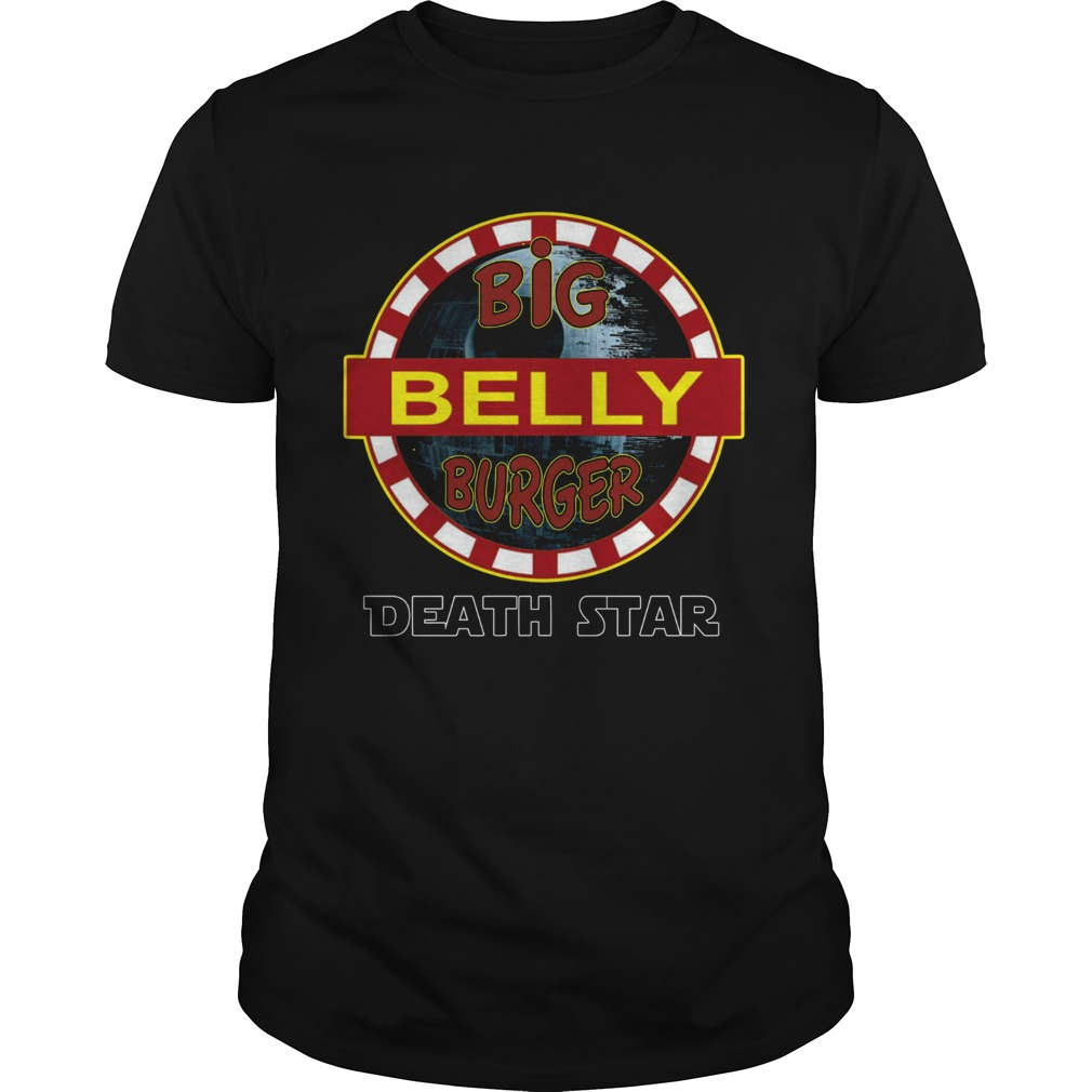 Big Belly Burger Death Star Shirt