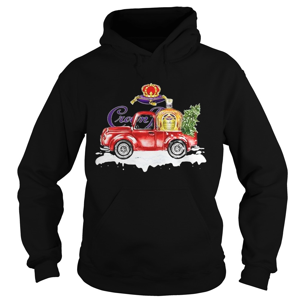 Crown Royal Whisky christmas truck Hoodie