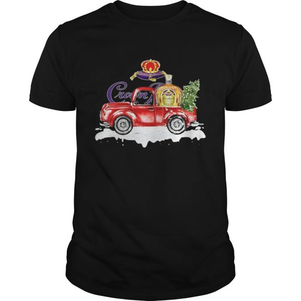 Crown Royal Whisky christmas truck shirt