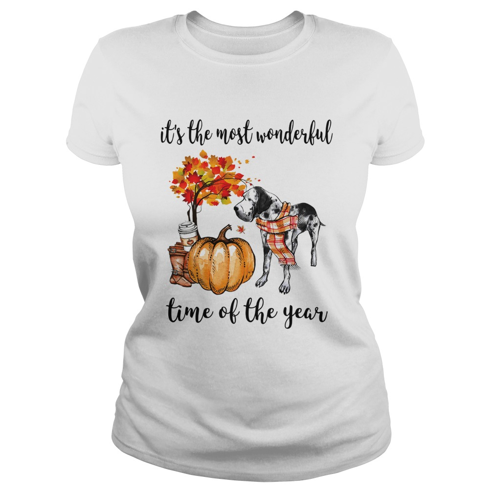 Dalmatian its the most wonderful time of the year Classic Ladies