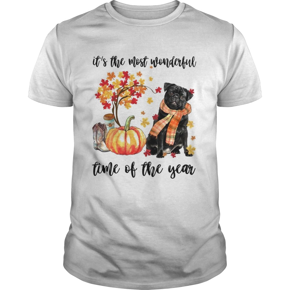 Dog its the most wonderful time of the year shirt