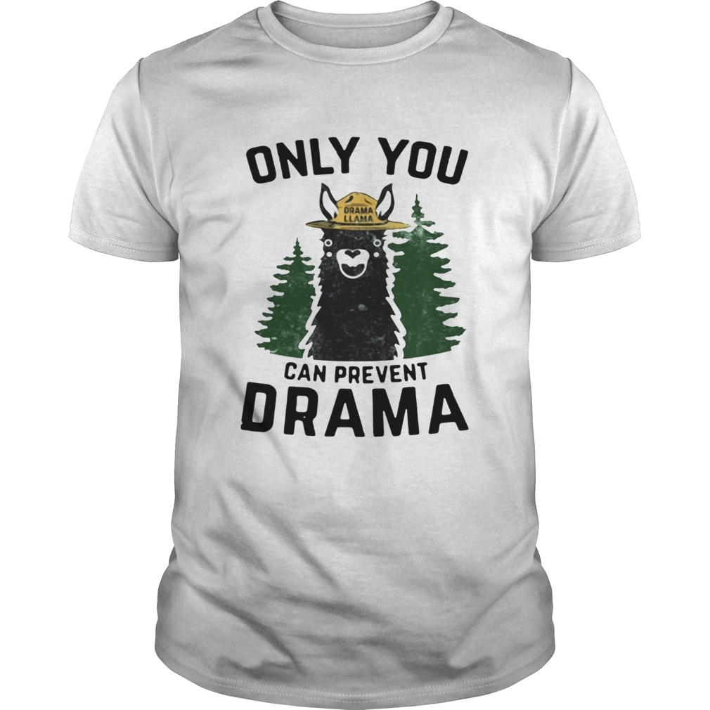 Grama Llama only you can prevent Drama shirt