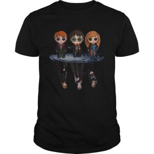Harry Potter characters chibi water mirror reflection  Unisex