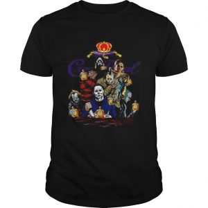 Horror character movie drink Crown Royal  Unisex