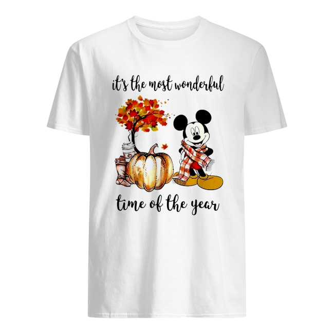 Mickey Mouse It's the most wonderful time of the year shirt