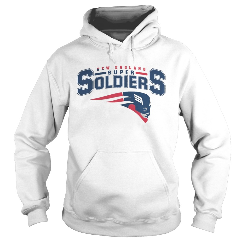NEW ENGLAND SUPER SOLDIERS T SHIRT Hoodie
