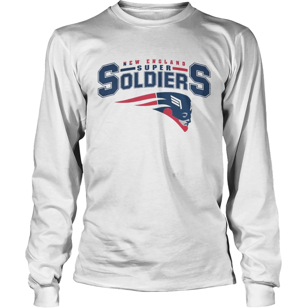 NEW ENGLAND SUPER SOLDIERS T SHIRT LongSleeve