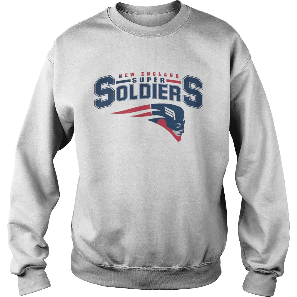 NEW ENGLAND SUPER SOLDIERS T SHIRT Sweatshirt