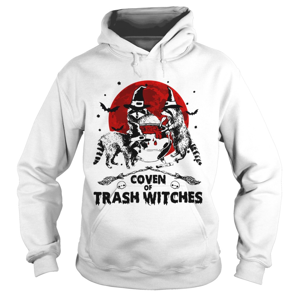 Otter coven trash witches Halloween Hoodie