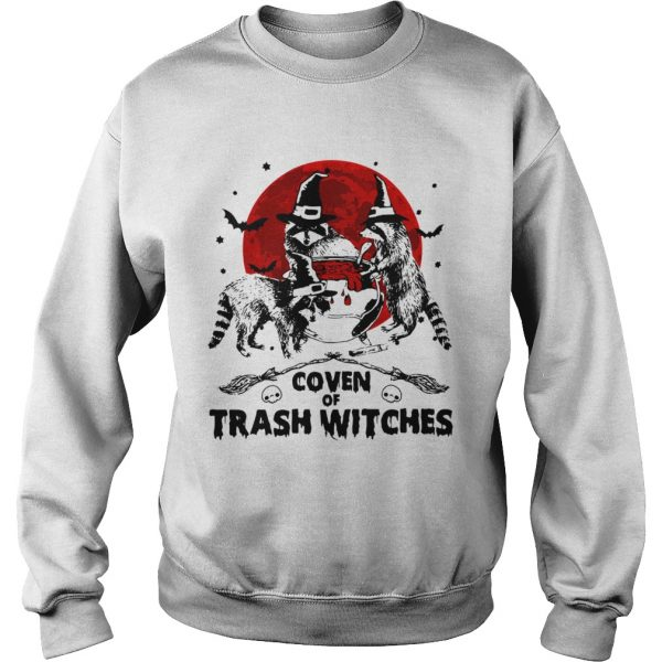Otter coven trash witches Halloween  Sweatshirt