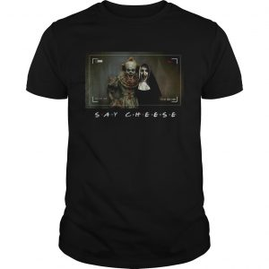 Pennywise and Valak say cheese photo  Unisex