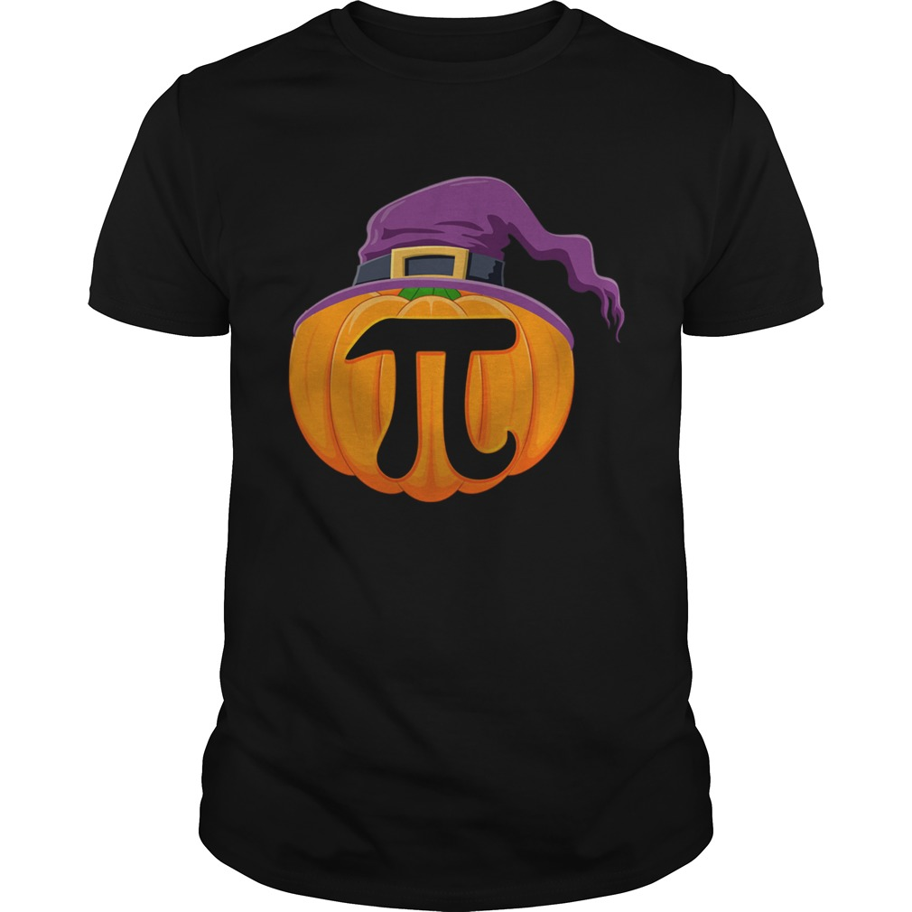 Pumpkin Pi Halloween Math Teacher Gifts For Kids TShirt