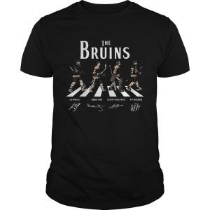 The Bruins Cam Neely Bobby Orr Gerry Cheevers Ray Bourque Walking Road  Unisex