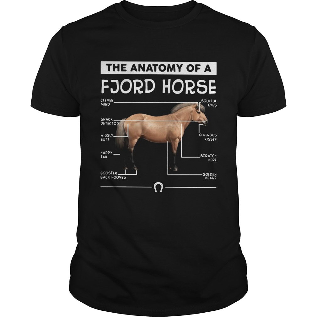 The anatomy of a Fjord horse shirt