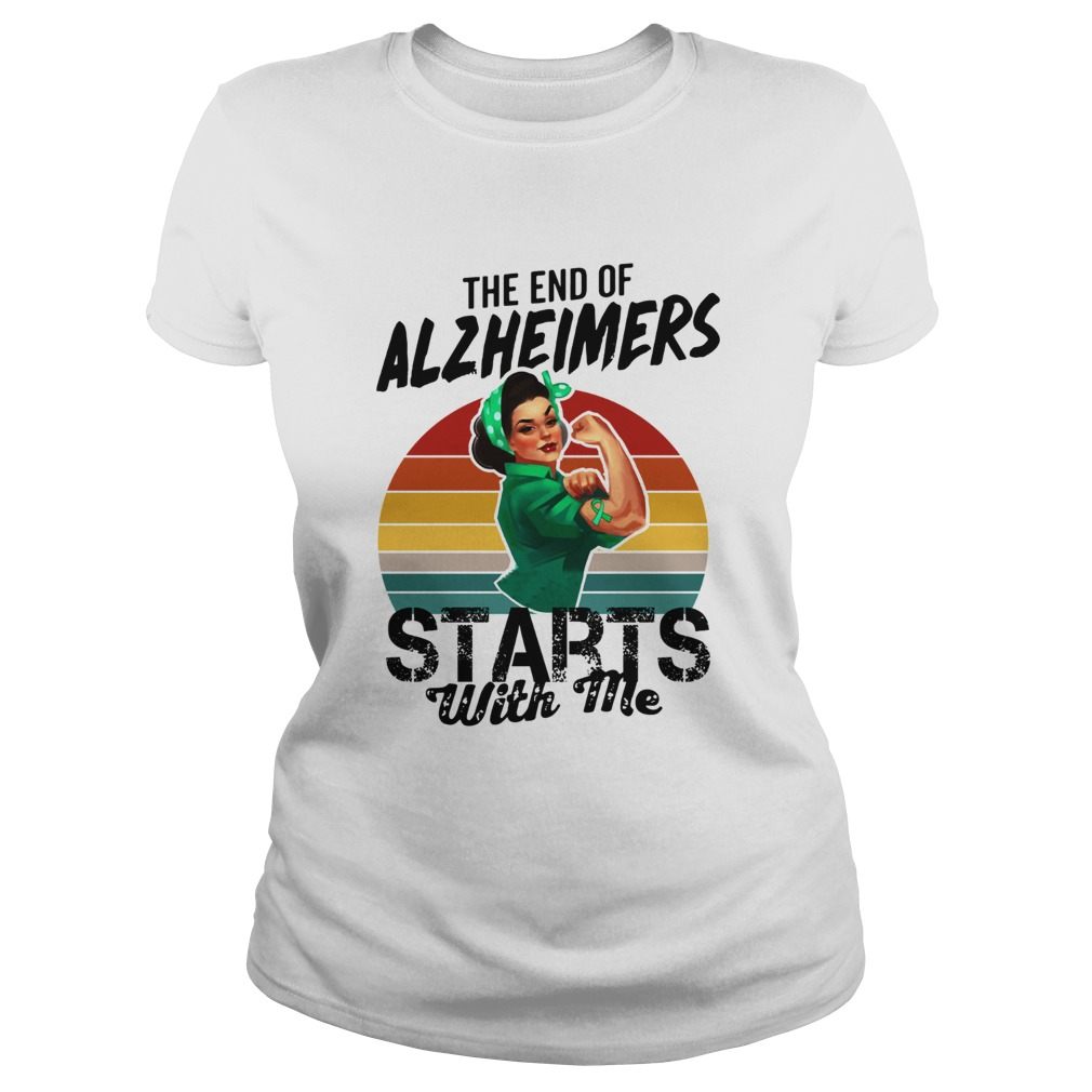 The end of Alzheimers Starts with me we can do it  Classic Ladies