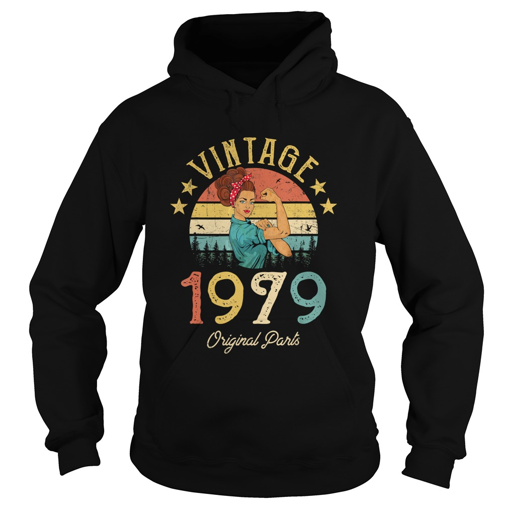 1568293436Vintage 1979 Made in 1979 40th Birthday 40 years old Gift T-Shirt Hoodie