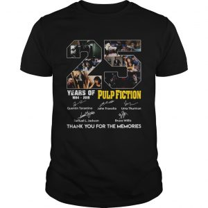 25 Years of Pulp Fiction thank you for the memories  Unisex