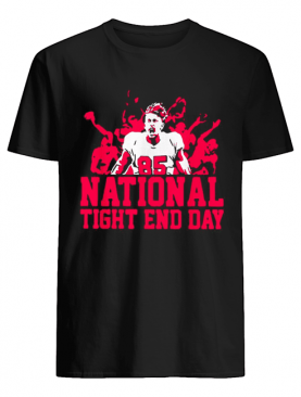 85 National tight end day shirt