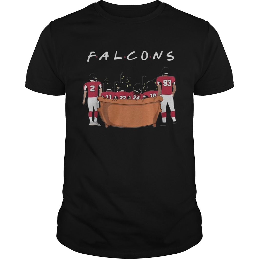 Atlanta Falcons Friends TV Show shirt