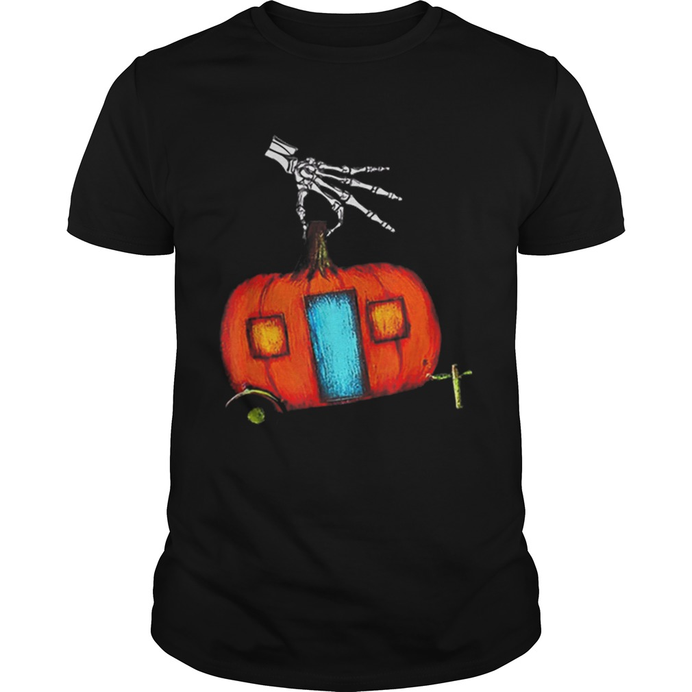 Beautiful Happy CampOWeen Funny Camping Halloween Gifts shirt