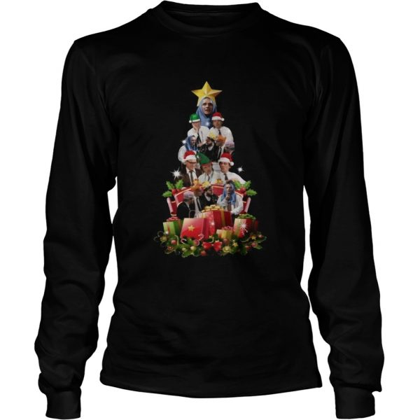 Bottom Richie and Eddie Christmas Tree  LongSleeve