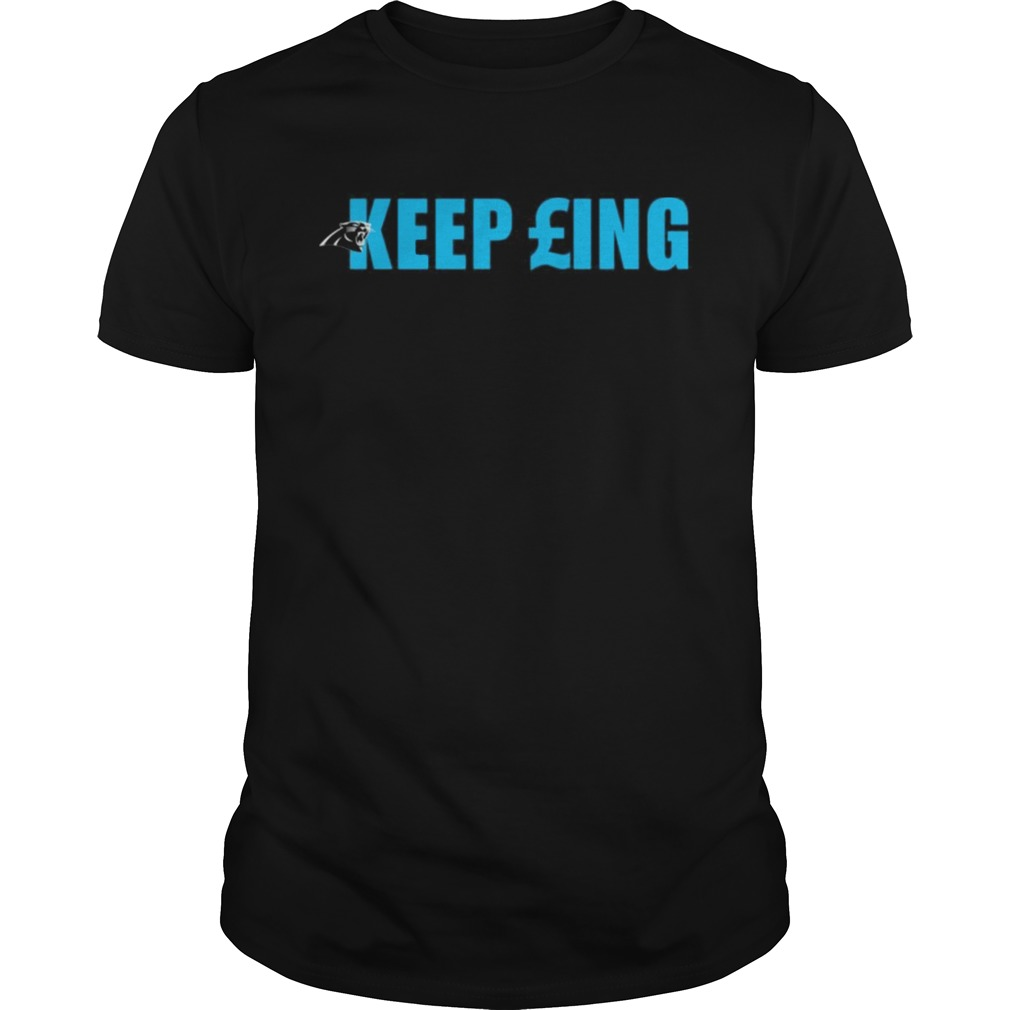 Carolina Panthers keep pounding shirt