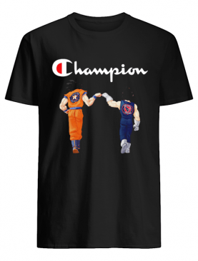 Champion Son Goku and Vegeta Houston Astros Houston Texans shirt