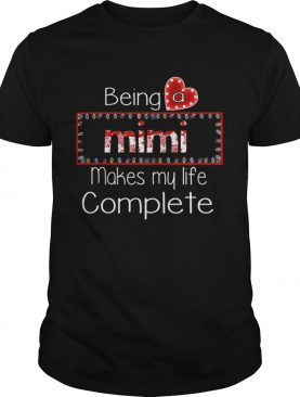 Christmas Being A Mimi Makes My Life Complete TShirt