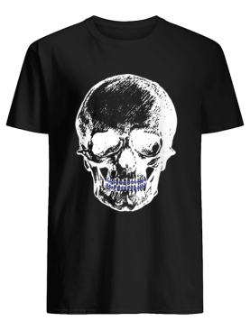 Creepy Skull With Braces Cool Halloween shirt