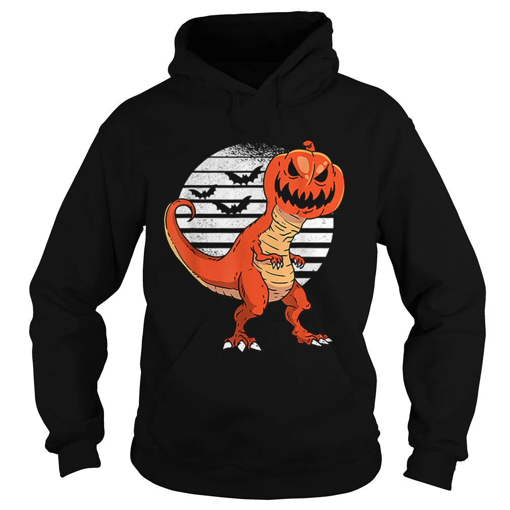 Dinosaur Pumpkin Head Halloween Costume  Hoodie