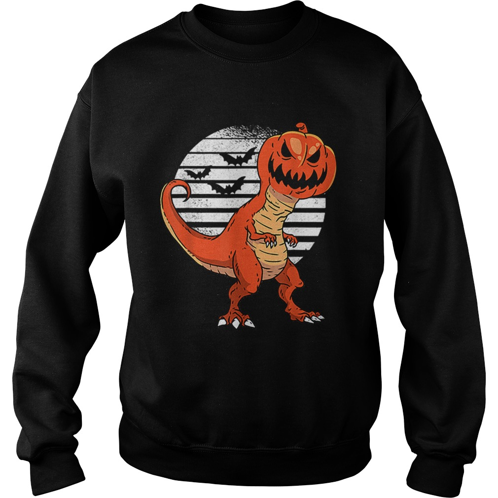 Dinosaur Pumpkin Head Halloween Costume  Sweatshirt
