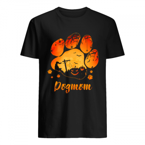 Dog Paw Dog Mom Halloween T-Shirt Classic Men's T-shirt