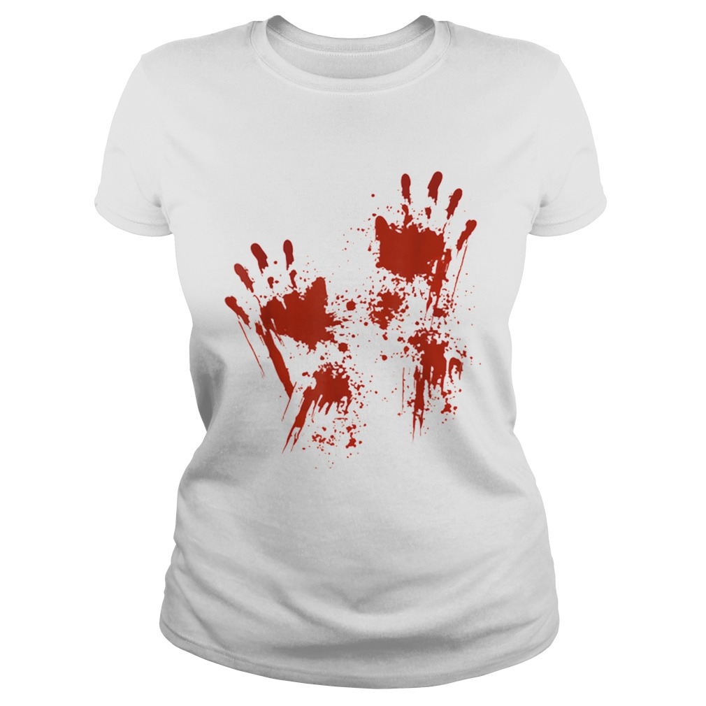 Halloween Blood Hands Costume Zombie Outfit Classic Ladies