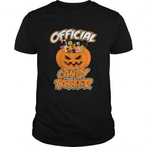 Halloween Hot Official Candy Taster Funny TShirt Unisex