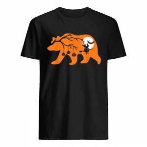 Halloween Papa Bear Gift  Classic Men's T-shirt