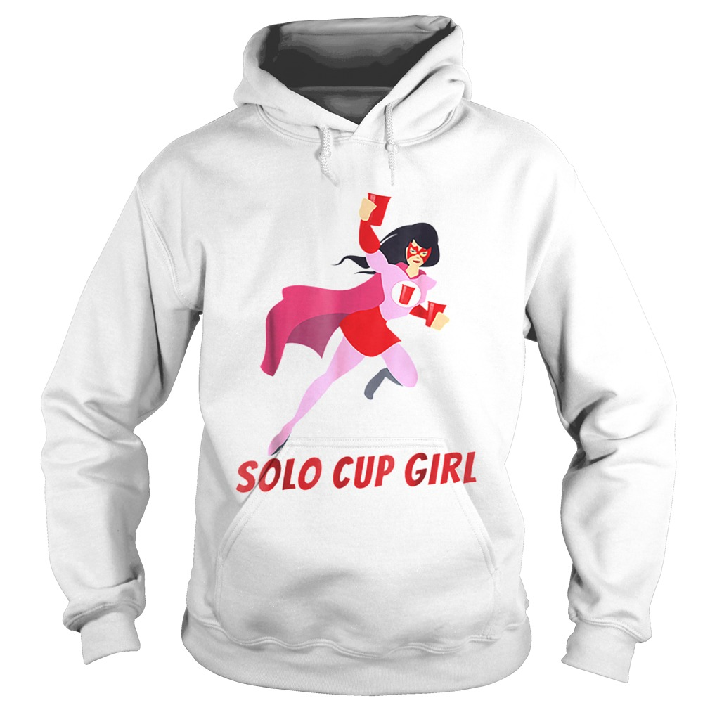 Halloween Solo Cup Women Beer Super Hero Costume Hoodie