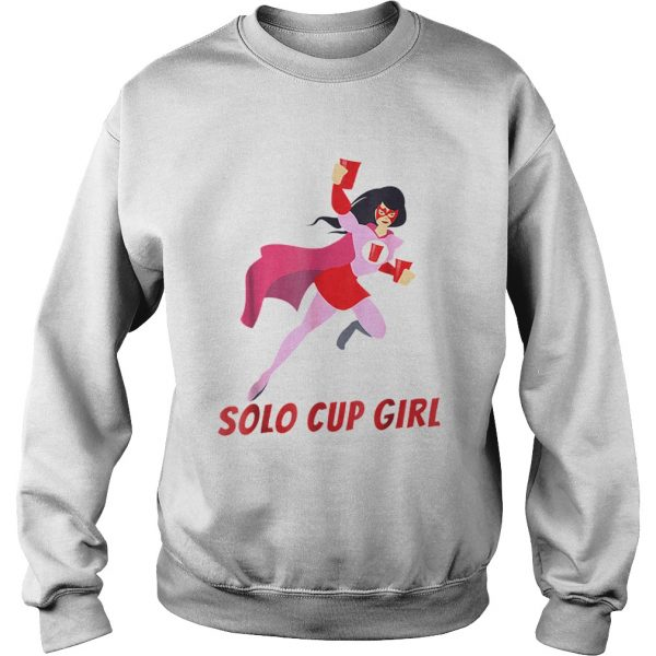 Halloween Solo Cup Women Beer Super Hero Costume  Sweatshirt