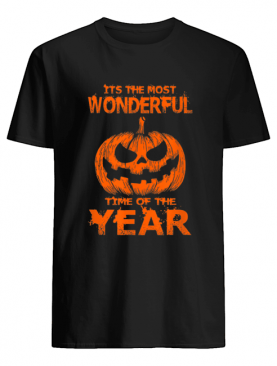 Halloween The Most Wonderful Time Of The Year shirt