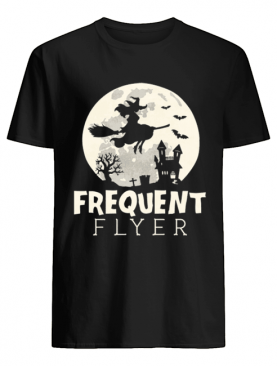 Halloween Witch Costume Frequent Flyer shirt